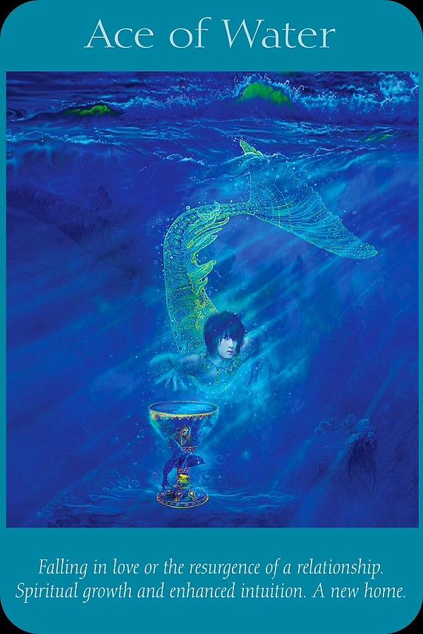 Sharana Online Engelentarot Aas Van Water