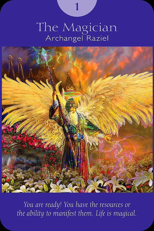 Sharana Online Engelentarot De Magiër