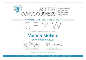 Access Consciousness CFMW (Choice of Possibilities)