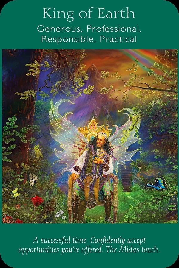 Sharana Online Engelentarot Koning Van Aarde