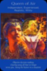 Sharana Online Engelentarot Koningin Van Lucht