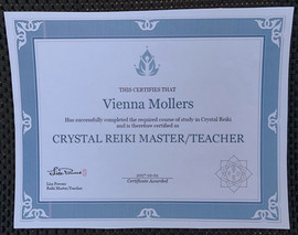 Crystal Reiki Master/Teacher