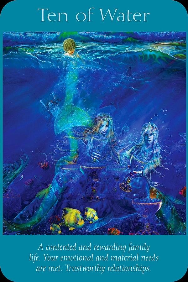 Sharana Online Engelentarot Water Tien