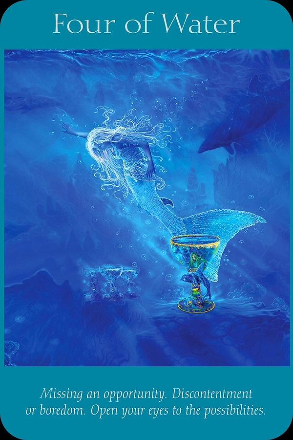 Sharana Online Engelentarot Water Vier
