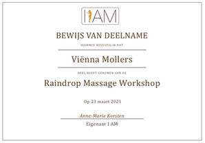 Young Living Raindrop Technique Massage
