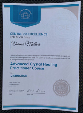 Advanced Crystal Healing Practitioner