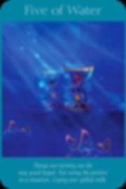 Sharana Online Engelentarot Water Vijf