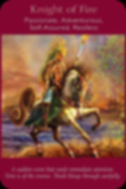 Sharana Online Engelentarot Ridder Van Vuur