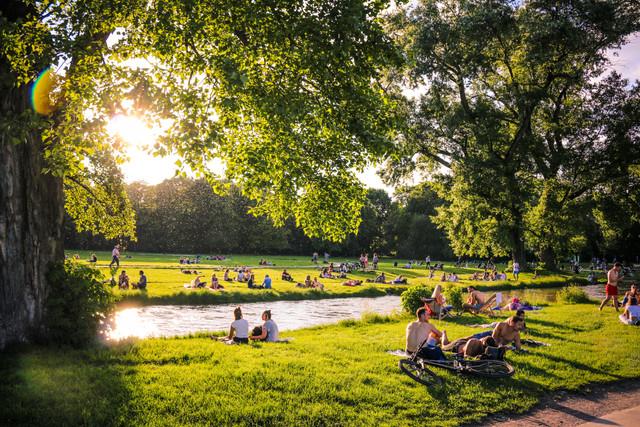 Englischer Garten, Munich, Germany