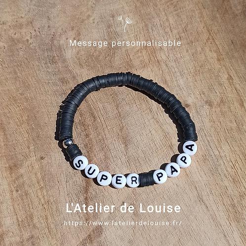 Bracelet ou boucles d'oreilles MESSAGE