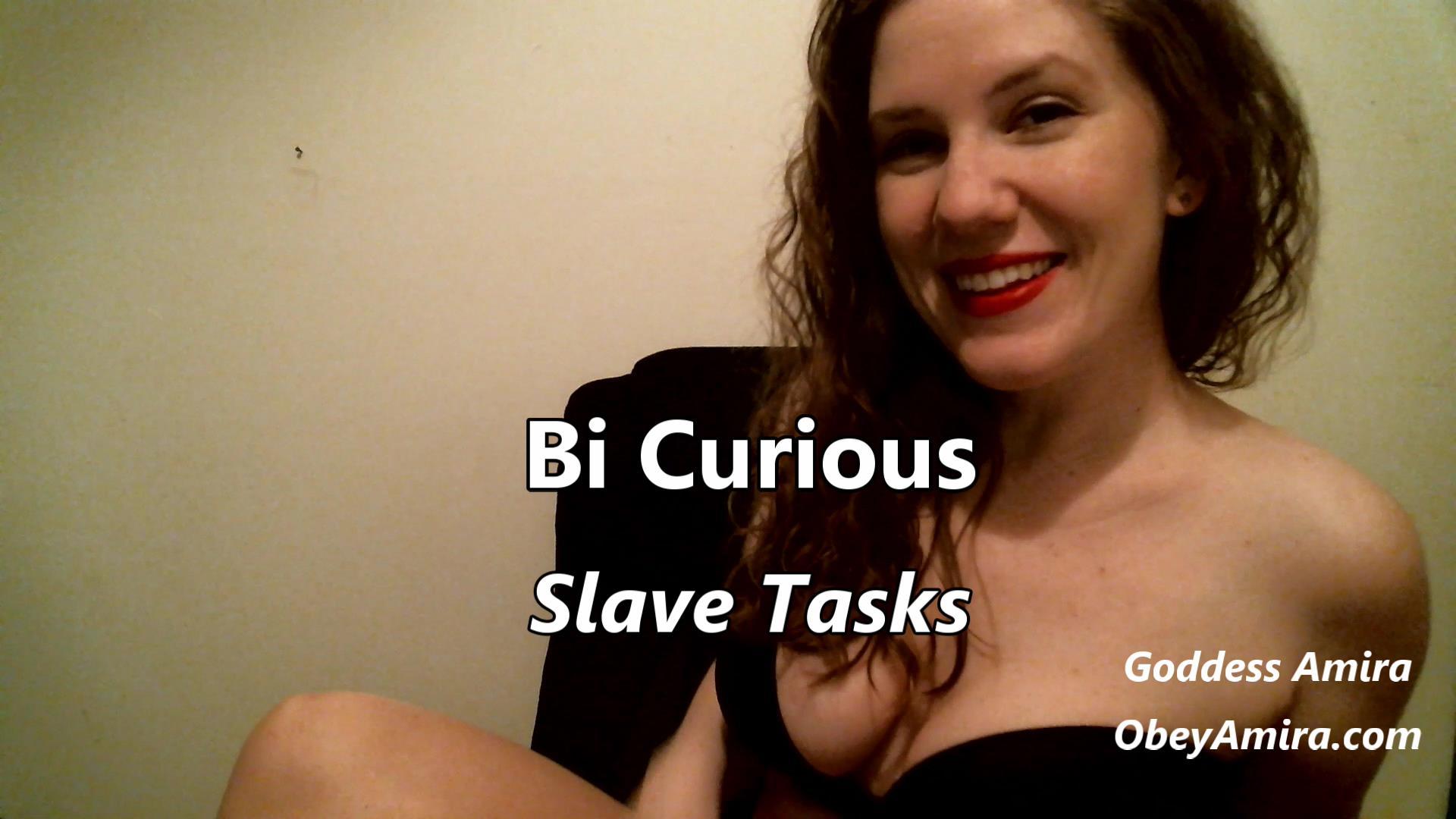 femdom bi gay slave tasks
