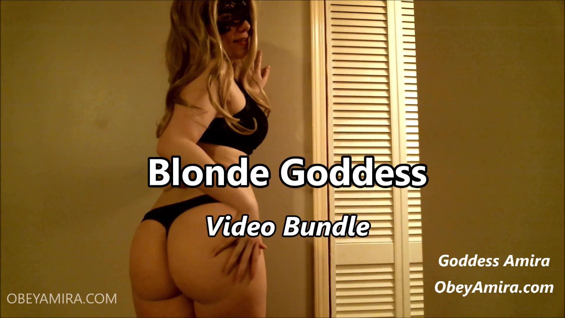 goddess amira blonde video bundle