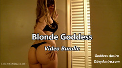 goddess amira blonde video bundle