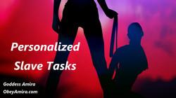 femdom slave tasks