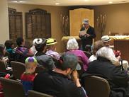 MMC Members at Purim Services