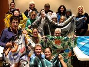MMC Members making blankets for charity