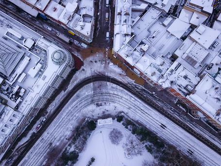 Dublin in white
