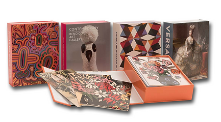Boxed Card Sets, Gift Cards, Bendigo Art Gallery, Versaille, Margaret Olley, The Australian Book Connection