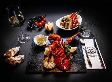 Food photography voor Mr. Crab Amsterdam