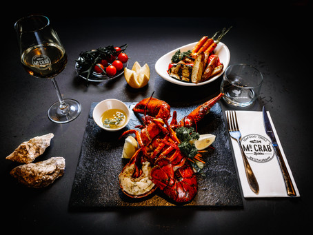 Food photography voor Mr. Crab Amsterdam