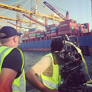 Regisseur Willem Martinot in Dubai voor Bedrijfsfilm