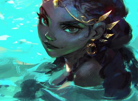 The Little mermaid is Mami Wata