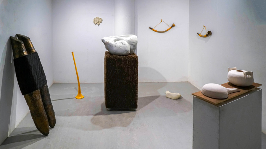 Poetics of Implied Sound (installation view)