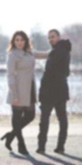 lauren & sebastian promotional photoshoot