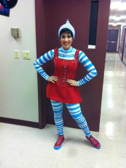 "costume ""Sparklejollytwinklejingley"""