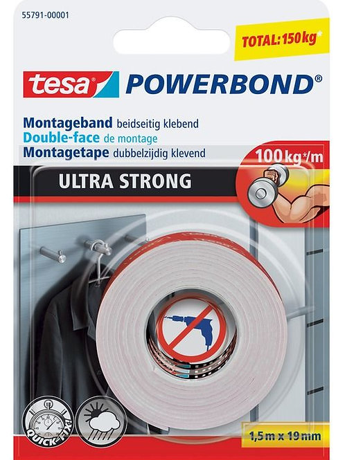 POWERBOND ULTRA STRONG 1.5MTS X 19mm 4042448217349