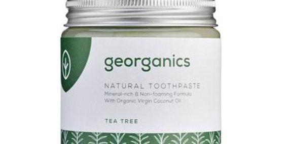 Coconut Oil Toothpaste Tea Tree 120ml - Georganics
