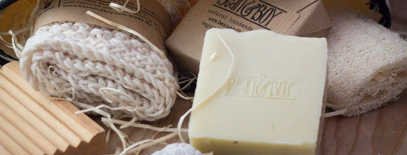MINI Avocado & Shea Butter Soap Bar 40g - Bean & Boy
