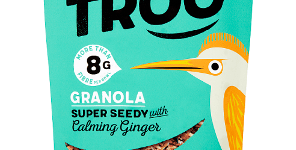 Granola, Super Seedy With Calming Ginger 350g - Eat Troo