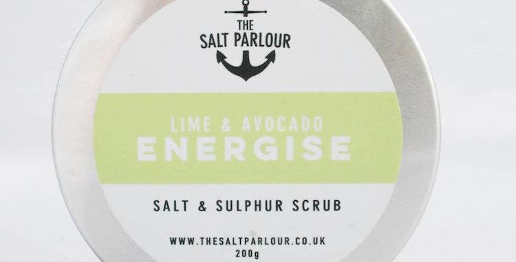 Lime & Avocado ENERGISE 200g - The Salt Parlour