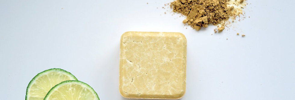 2IN1 Solid Shampoo Bar Dry & Curly Hair 70g - Zero Waste Path