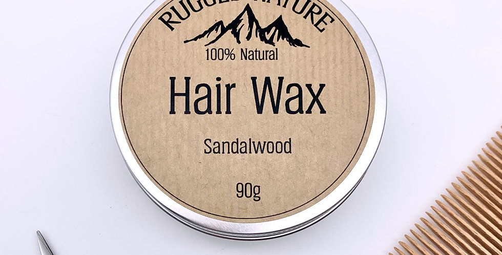 Unscented Hair Wax 90g - Rugged Nature
