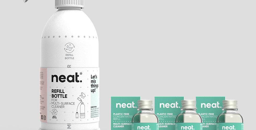 Complete Seagrass Multi Purpose Cleaner Set - Neat