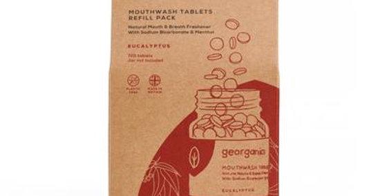 Mouthwash Tablets Eucalyptus x720 Tablets - Georganics