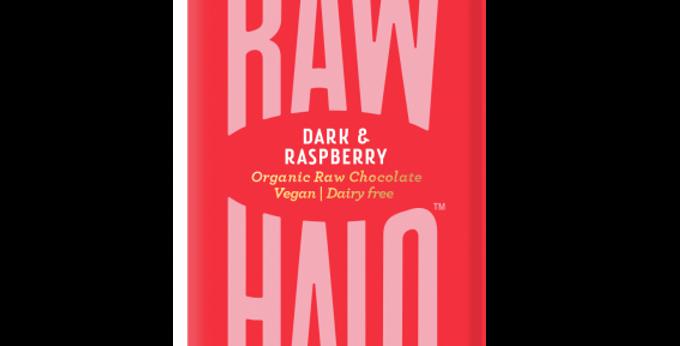 Raw Halo Dark & Raspberry Vegan Chocolate - 35g