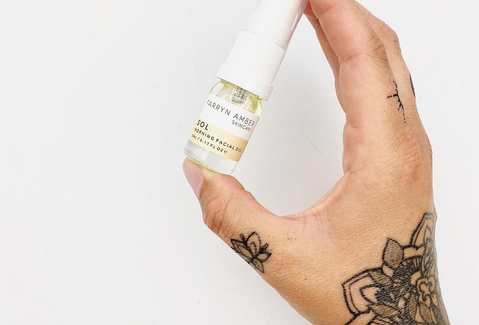 MINI Sol Facial Oil 5ml - Farryn Amber