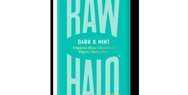 Raw Halo Dark & Mint Vegan Chocolate - 35g