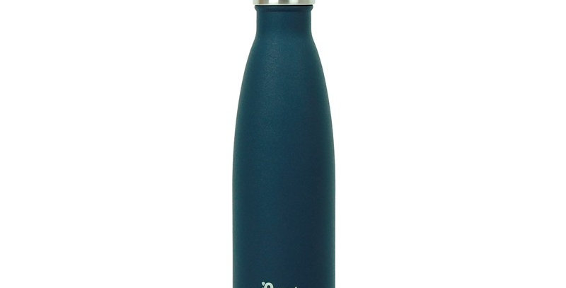 Qwetch Stainless Steel Water Bottle 500ml - Blue
