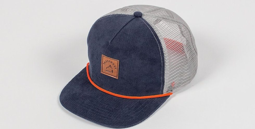 Hick Cap - Teal/Grey - Passenger Clothing