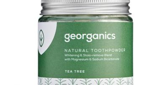 Tea Tree Toothpowder 120ml - Georganics