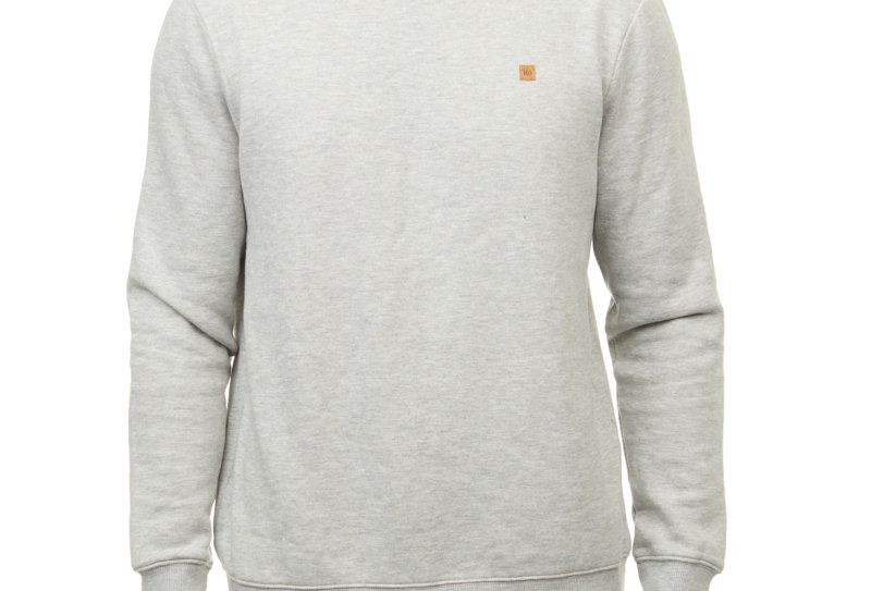 Tentree TreeFleece Classic Crew - Hi Rise Grey Heather