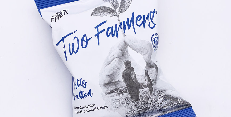 Two Farmers Crisps Lightly Salted 24 x 40g