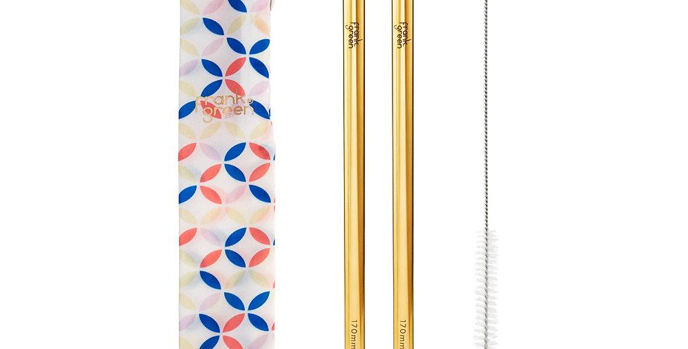 Frank Green Reusable Straw Set - Flowers
