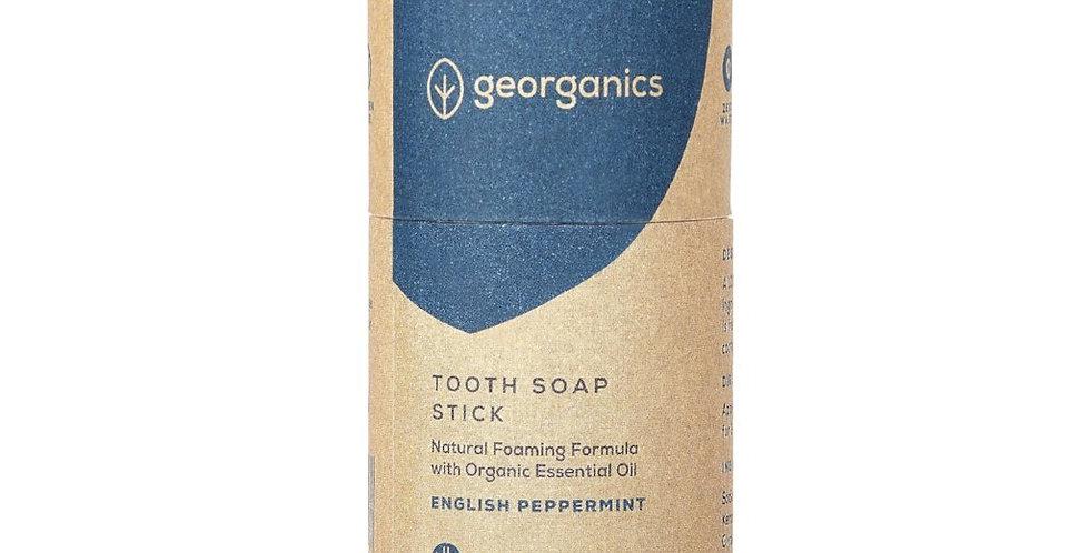 Tooth Soap English Peppermint - Georganics