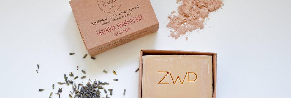 Lavender Shampoo Bar 100g  - Zero Waste Path
