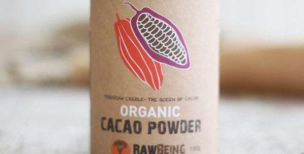 Organic Cacao Powder 150g - RawBeing